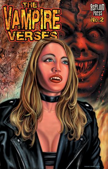 The Vampire Verses #2 - cover