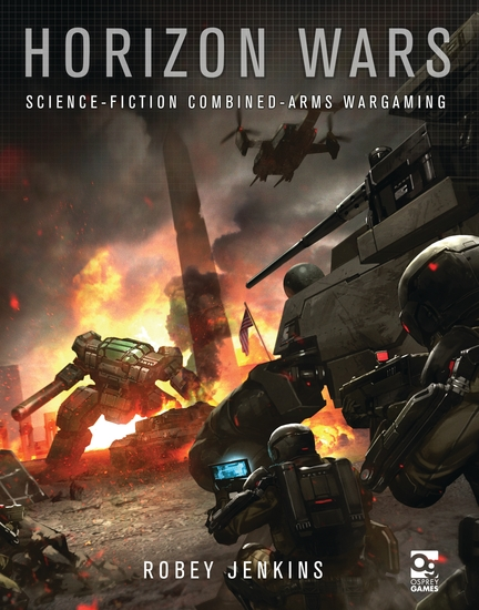 Horizon Wars - Science-Fiction Combined-Arms Wargaming - cover