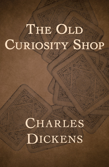 The Old Curiosity Shop - cover