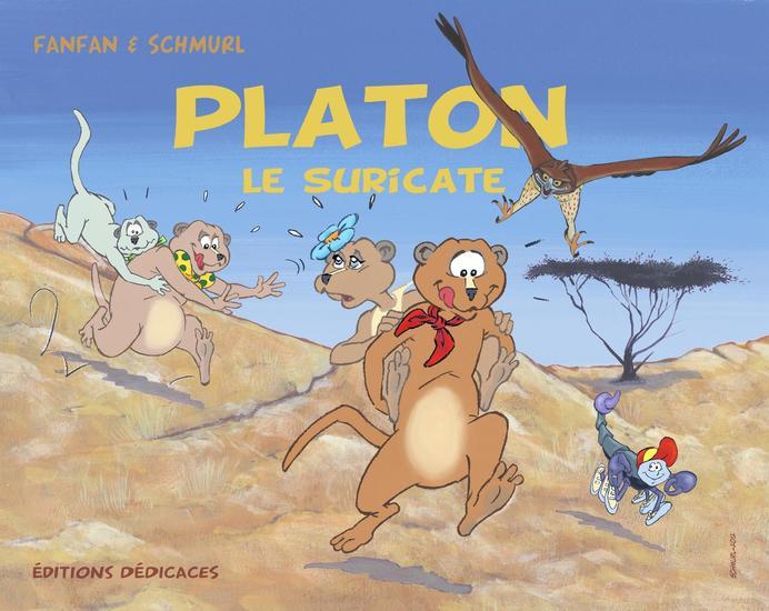 Platon le Suricate (vol1) - cover