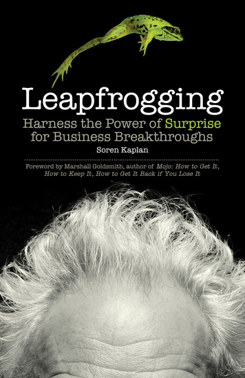 Leapfrogging - Harness the Power of Surprise for Business Breakthroughs - cover
