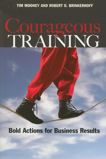 Courageous Training - Bold Actions for Business Results - cover