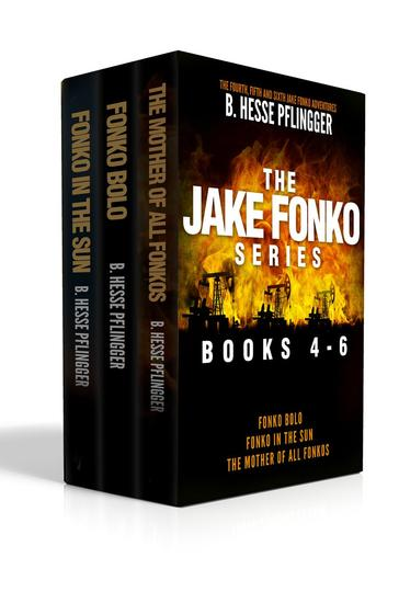 The Jake Fonko Series: Books 4 5 & 6 - Jake Fonko - cover
