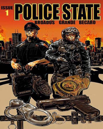 Police State - The Police State Saga #1 - cover