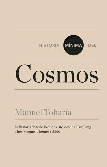 Historia mínima del cosmos - cover