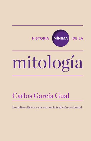 Historia mínima de la mitología - cover