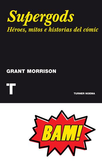 Supergods - Héroes mitos e historias del cómic - cover