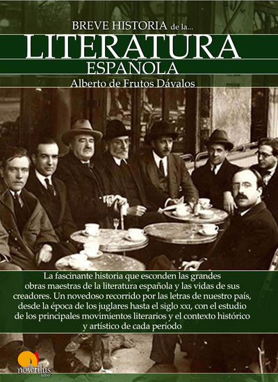 Breve historia de la Literatura española - cover
