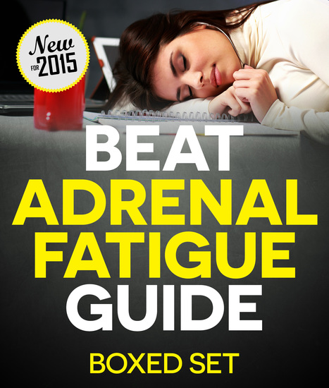 Adrenal Fatigue Cure Guide (Beat Chronic fatigue) - Restoring your Hormones and Controling Thyroidism - cover