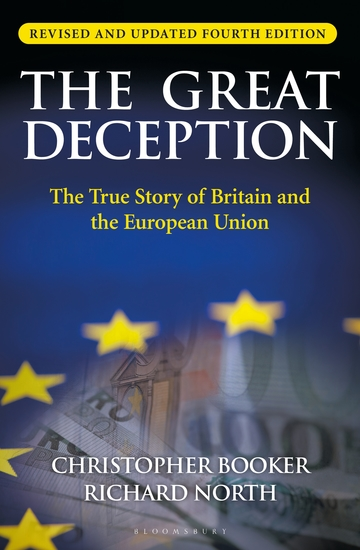 The Great Deception - The True Story of Britain and the European Union - cover