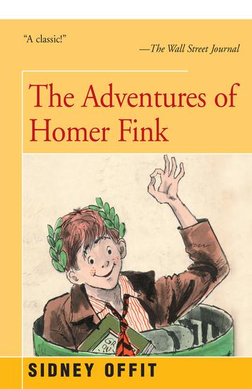 Adventures of Homer Fink - cover