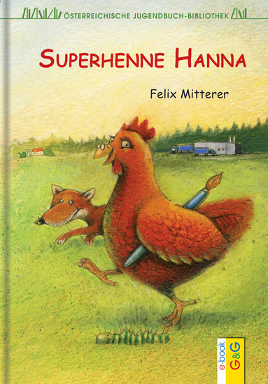 Superhenne Hanna - cover