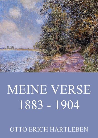 Verse 1883 - 1904 - Erweiterte Ausgabe - cover