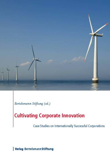 Cultivating Corporate Innovation - Case Studies on Internationally Successful Corporations - cover