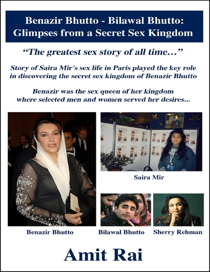 Benazir Bhutto - Bilawal Bhutto: Glimpses from a Secret Sex Kingdom - cover