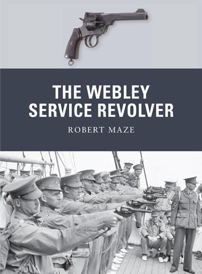 The Webley Service Revolver - cover