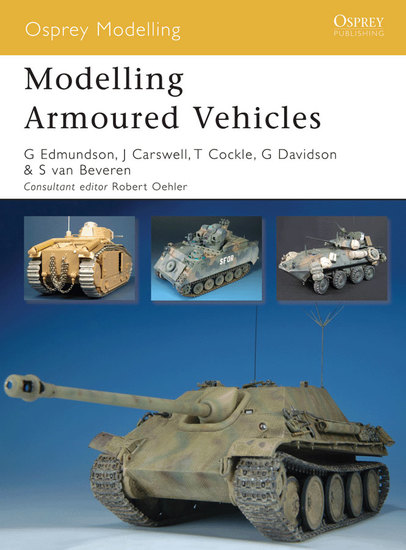 Modelling Armoured Vehicles - cover