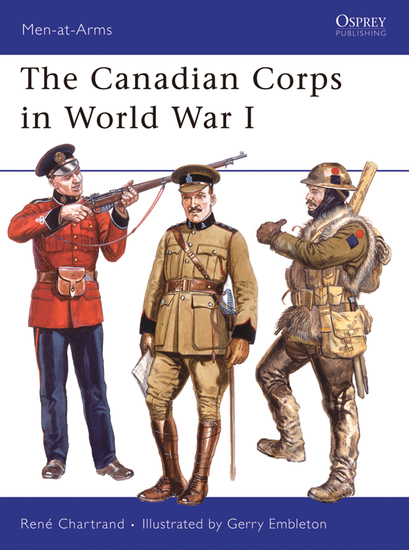 The Canadian Corps in World War I - cover