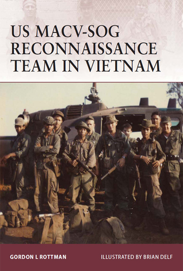US MACV-SOG Reconnaissance Team in Vietnam - cover