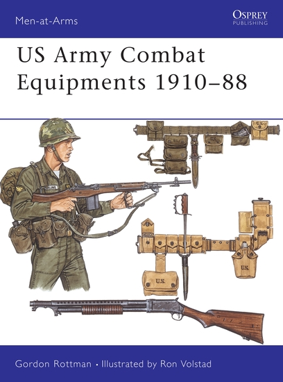 US Army Combat Equipments 1910–88 - cover
