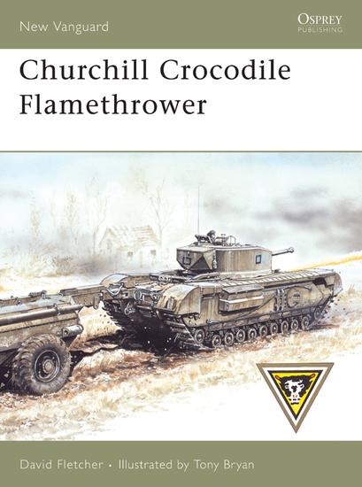 Churchill Crocodile Flamethrower - cover