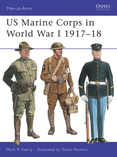 US Marine Corps in World War I 1917–18 - cover