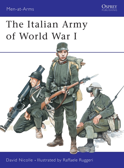 The Italian Army of World War I - cover