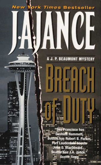 Breach of Duty - A J P Beaumont Novel - cover