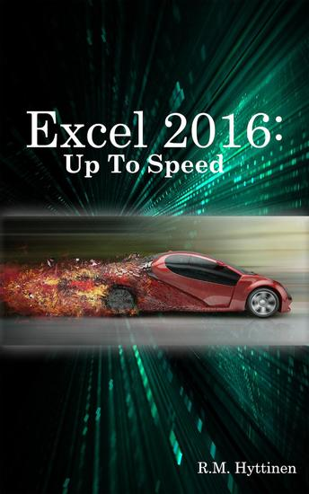 Excel 2016: Up To Speed - cover