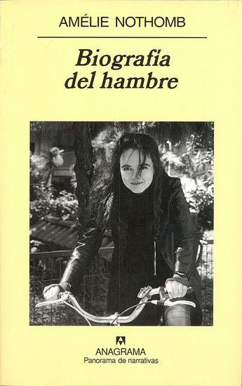 Biografía del hambre - cover