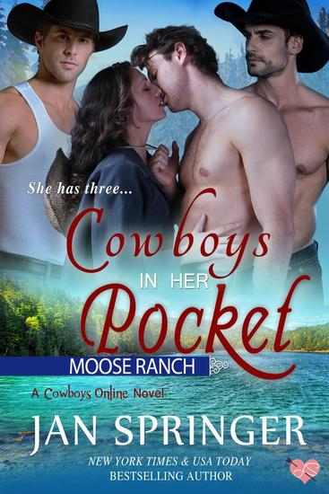 Cowboys In Her Pocket - Cowboys Online #2 - cover