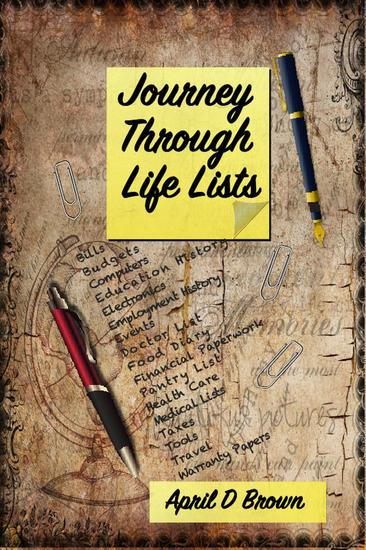 Journey Through Life Lists - cover