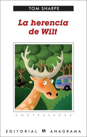 La herencia de Wilt - cover