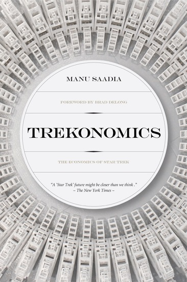 Trekonomics - The Economics of Star Trek - cover