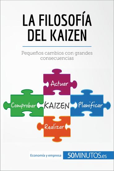 La filosofía del Kaizen - Pequeños cambios con grandes consecuencias - cover