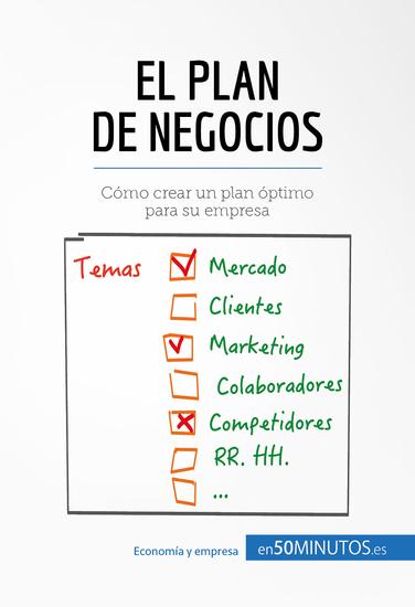 Hoja de verificación de un plan de negocios - Cómo organizarse para triunfar - cover