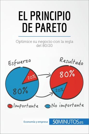 El principio de Pareto - Mejore la productividad y el éxito de su negocio con la regla del 80 20 - cover