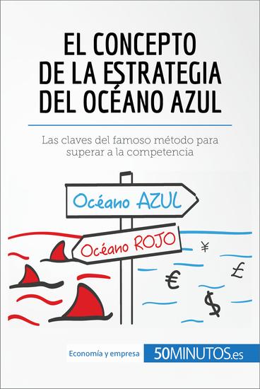 El concepto de la estrategia del océano azul - Las claves de la estrategia de éxito empresarial para innovar y superar a la competencia - cover