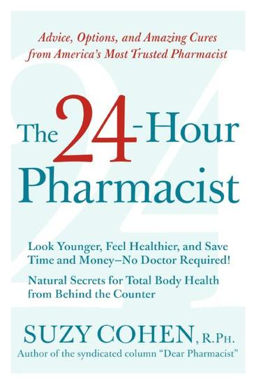 The 24-Hour Pharmacist - cover