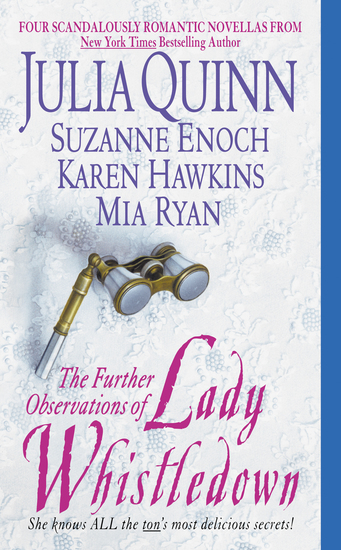 The Further Observations of Lady Whistledown - cover