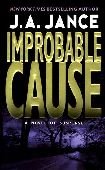 Improbable Cause - A JP Beaumont Novel - cover