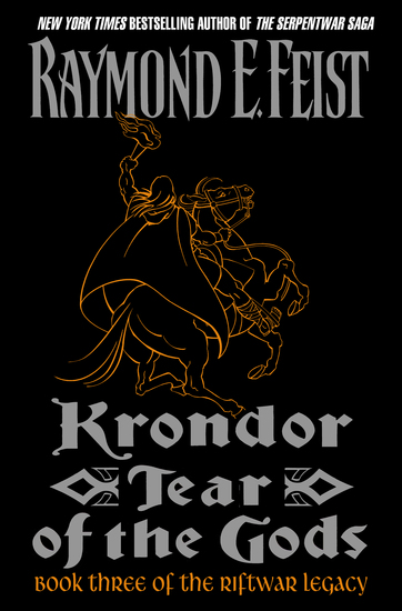 Krondor: Tear of the Gods - cover