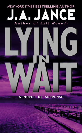 Lying in Wait - A JP Beaumont Novel - cover