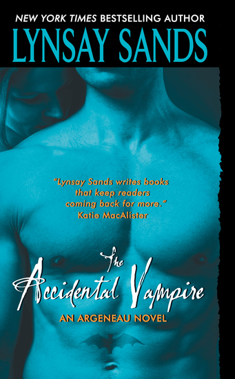 The Accidental Vampire - An Argeneau Novel - cover