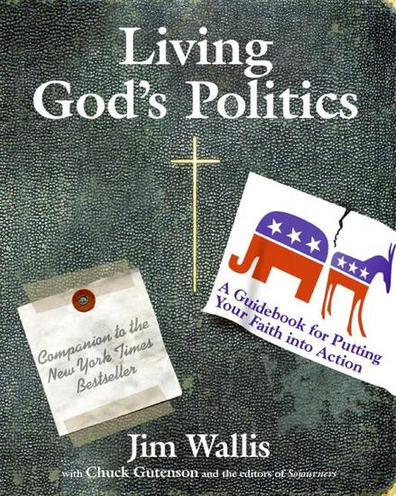 Living God's Politics - A Guide to Putting Your Faith into Action - cover