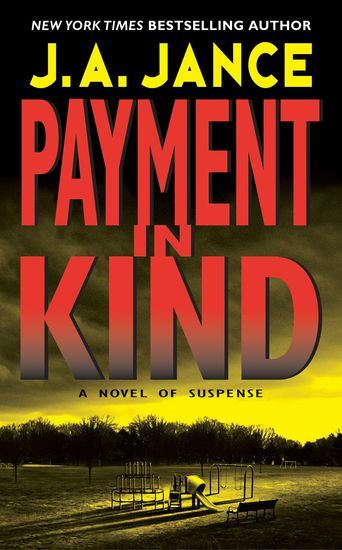 Payment in Kind - A JP Beaumont Novel - cover