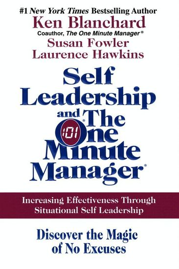 Self Leadership and the One Minute Manager - cover