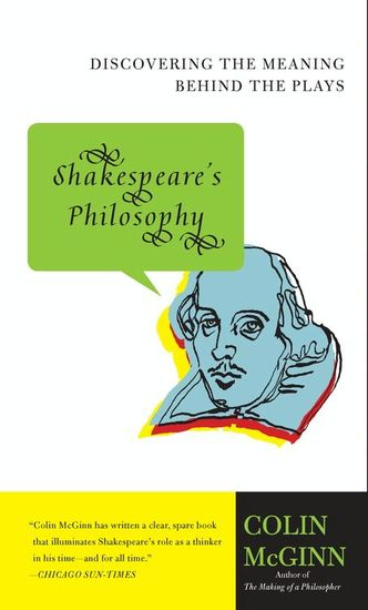 Shakespeare's Philosophy - cover
