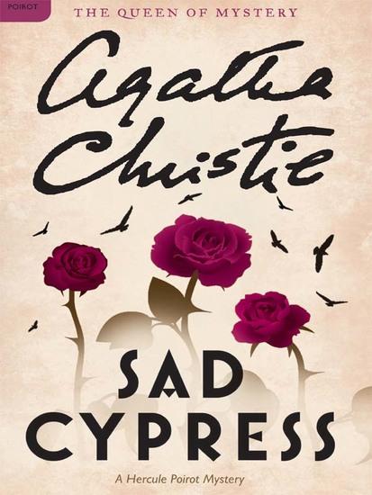 Sad Cypress - Hercule Poirot Investigates - cover