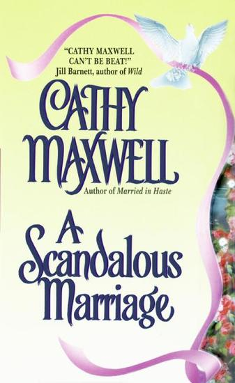 A Scandalous Marriage - cover